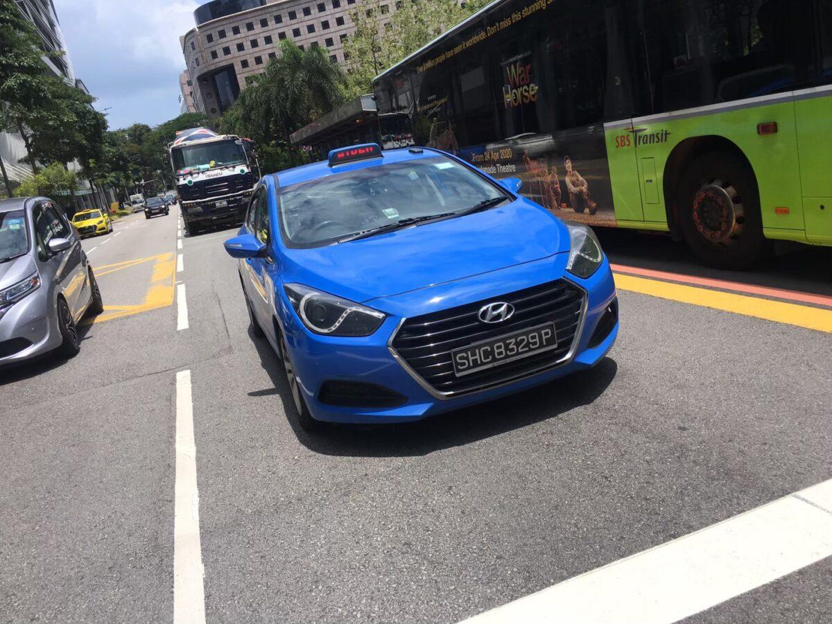 シンガポールの主要な交通手段とその料金②:タクシー