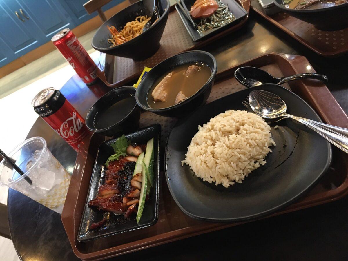 シンガポール有名料理①:CHICKEN RICE(チキンライス)