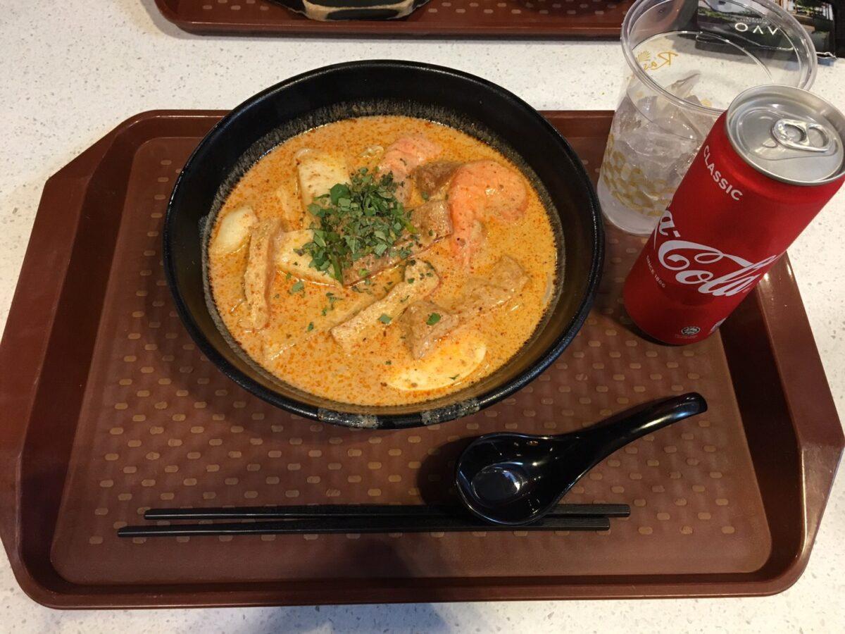 シンガポール有名料理②:LAKSA(ラクサ)