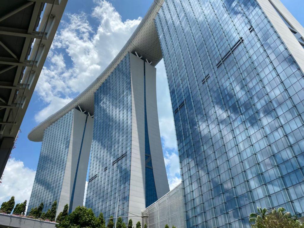 シンガポール「マリーナベイ・サンズ」を簡単に紹介